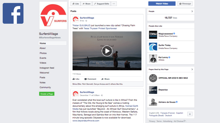 facebook sv with logo